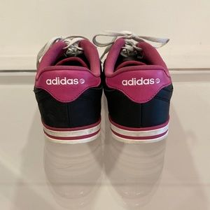 adidas Shoes - Adidas Pink Black and White Sneakers W 8.5